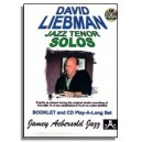 David Liebman: Tenor Solos from Aebersold Volume 19 David Liebman