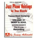 Dan Haerle: Piano Voicings from Aebersold Volume 41 Body and Soul