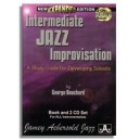 George Bouchard: Intermediate Jazz Improvisation- A Study Guide for Developing Soloists (2nd edition)