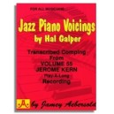 Hal Galper: Jazz Piano Voicings from Aebersold Volume 55 Jerome Kern