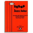 David Baker: Bebop Jazz Solos (Bb) from Aebersold Vol. 10 and Vol. 13