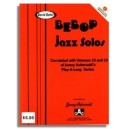 David Baker: Bebop Jazz Solos (C) from Aebersold Vol. 10 and Vol. 13
