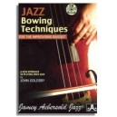 John Goldsby: Jazz Bowing Techniques for the Improvising Bassist (2009 edition)