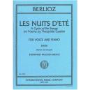 Berlioz Les Nuits d'Ete (High Voice)