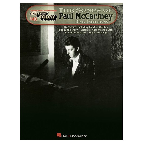 E-Z Play Today Volume 143: The Songs Of Paul McCartney - 2nd Edition
