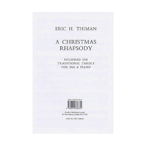 Eric Thiman: A Christmas Rhapsody - Thiman, Eric (Artist)