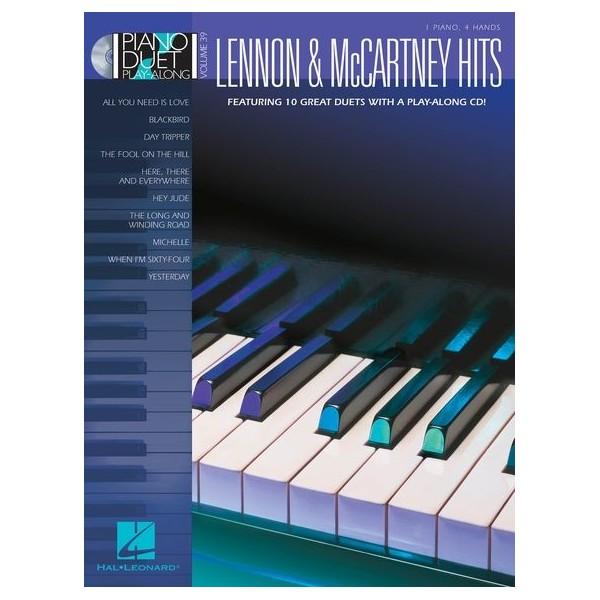 Piano Duet Play-Along Volume 39: Lennon & McCartney Hits