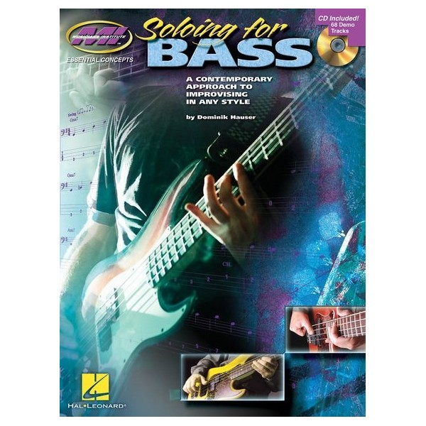 Soloing For Bass (Book/CD)