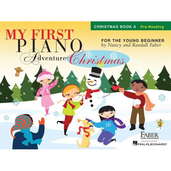 Nancy Faber/Randall Faber: My First Piano Adventure - Christmas (Book A - Pre-Reading)