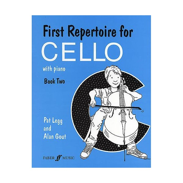 Legg, P & Gout, A First Repertoire for Cello Book Two