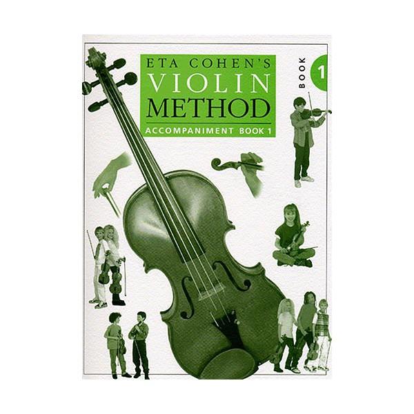 Eta Cohen: Violin Method Book 1 - Piano Accompaniment - Cohen, Eta (Author)