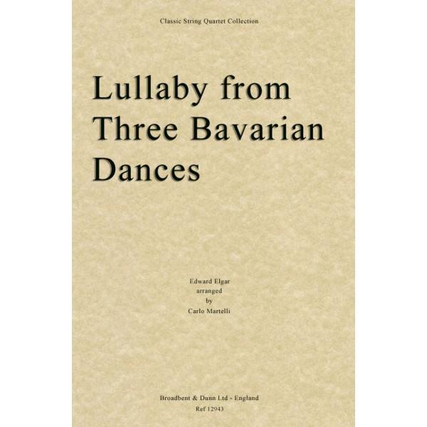 Elgar, E - Lullaby from Three Bavarian Dances