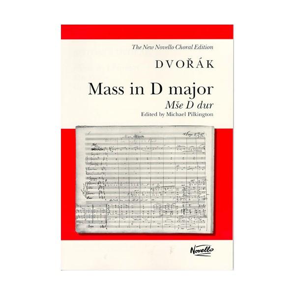 Antonin Dvorak: Mass In D Major Op.86 (Vocal Score) - Dvorak, Antonin (Composer)