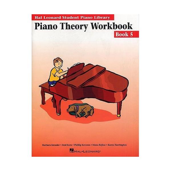 Hal Leonard Student Piano Library: Piano Theory Workbook Book 5