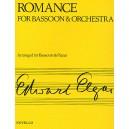 Edward Elgar: Romance For Bassoon And Orchestra (Bassoon/Piano) - Elgar, Edward (Composer)