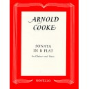 Arnold Cooke: Sonata In B Flat For Clarinet And Piano - Cooke, Arnold (Composer)