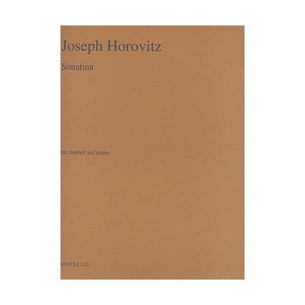 Joseph Horovitz: Sonatina for Clarinet and Piano - Horovitz, Joseph (Composer)