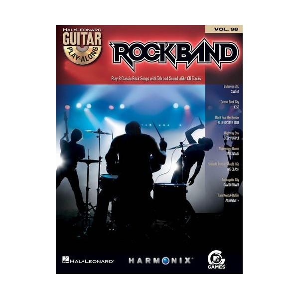 Guitar Play-Along Volume 98: Rock Band