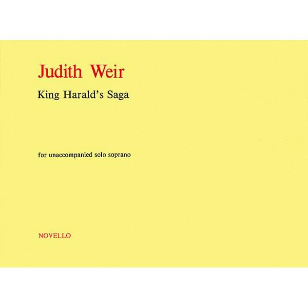 Judith Weir: King Haralds Saga - Weir, Judith (Artist)
