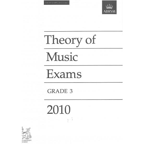 Theory of Music Exams Grade 3 2010