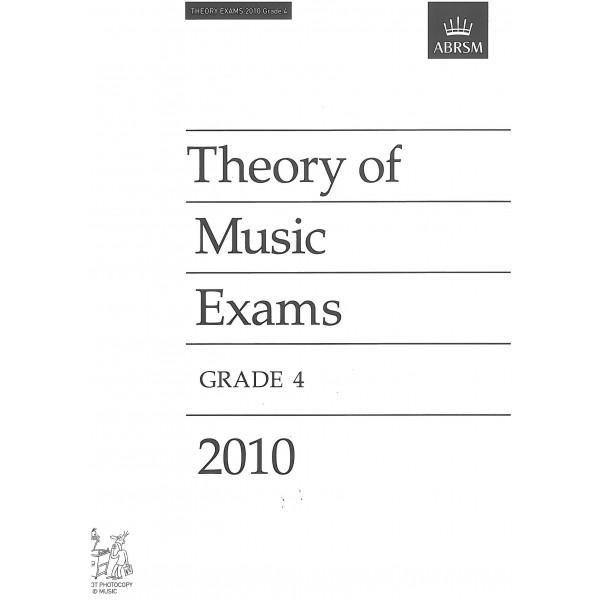 Theory of Music Exams Grade 4 2010