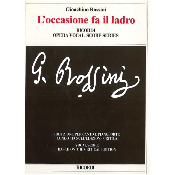 Rossini, Gioacchino - L'occasione fa il ladro