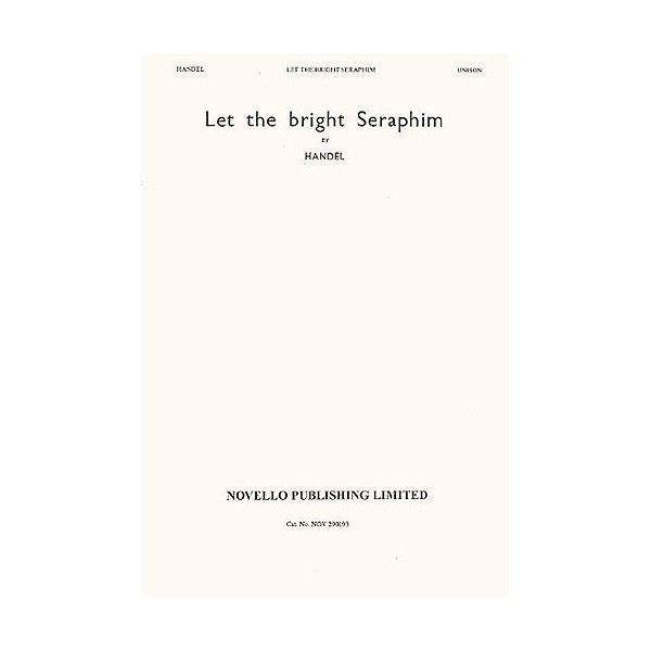 Handel: Let The Bright Seraphim - Handel, George Frideric (Artist)