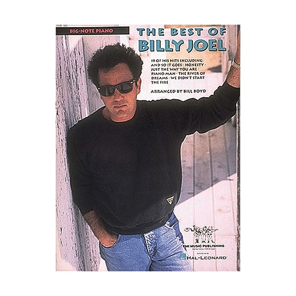 Billy Joel: The Best Of (Big Note Piano)