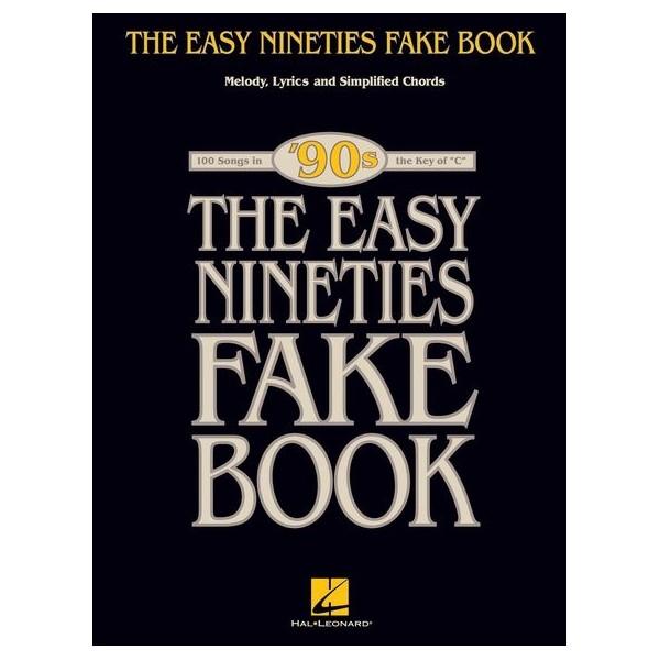 The Easy Nineties Fake Book - Key Of C