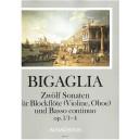 Bigaglia, Diogenio - 12 Sonatas Book 1 (1 to 4)