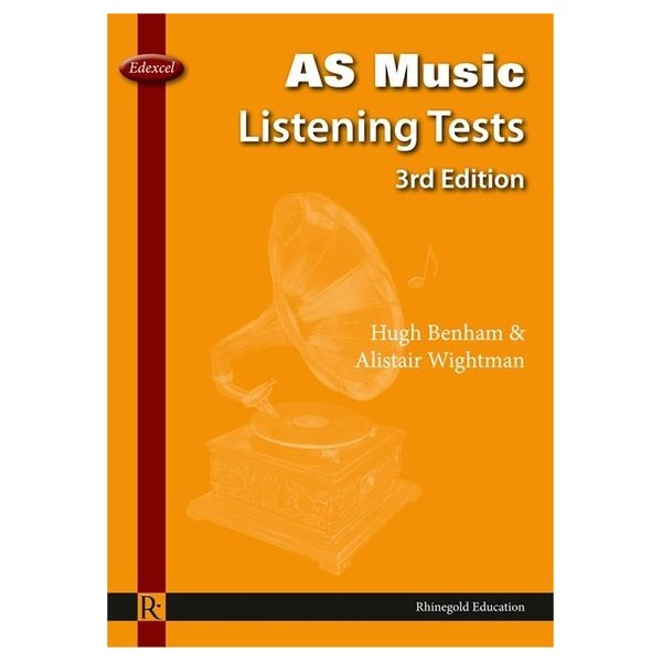 Hugh Benham/Alistair Wightman: Edexcel AS Music Listening Tests - 3rd Edition
