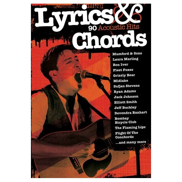 Lyrics & Chords: 90 Acoustic Hits