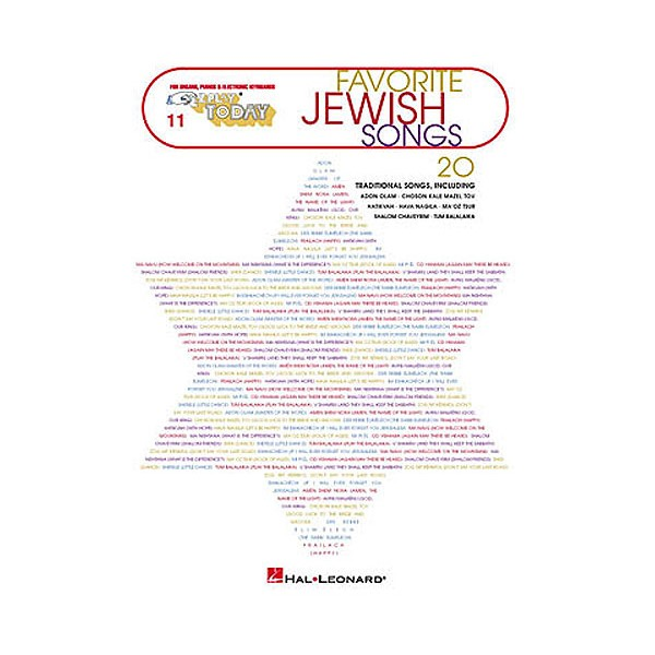 E-Z Play Today 11: Favorite Jewish Songs