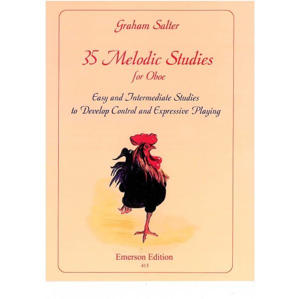 35 Melodic Studies for Oboe (Graham Salter)