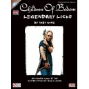 Children Of Bodom: Legendary Licks (Book/CD)
