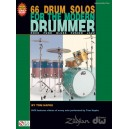 66 Drum Solos for the Modern Drummer (Book/DVD)