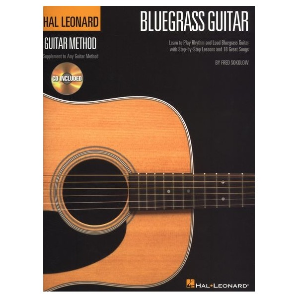 Bluegrass Guitar Method (Book/CD)