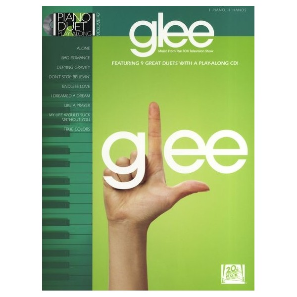 Glee: Piano Duet Play-Along (Book/CD)