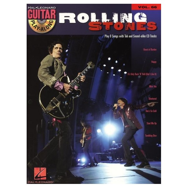 Guitar Play-Along Volume 66: Rolling Stones