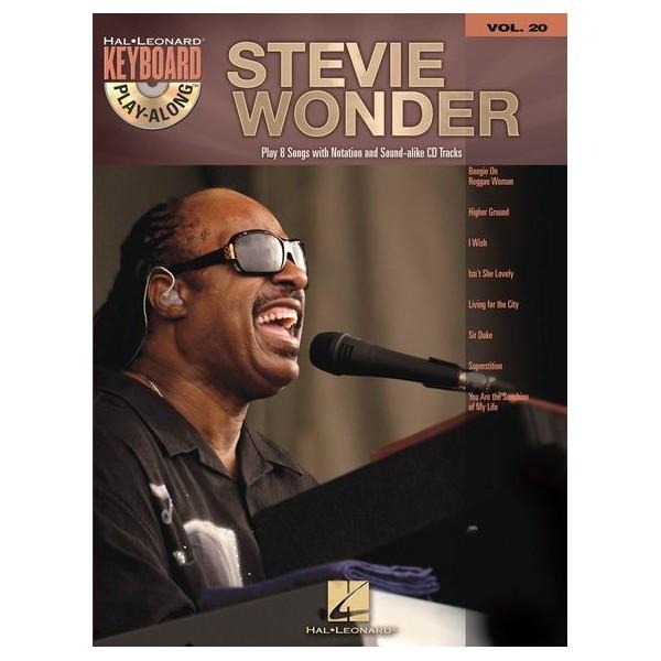 Keyboard Play-Along Volume 20: Stevie Wonder