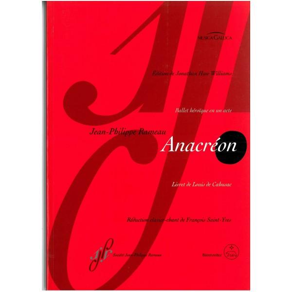 Rameau, Jean-Philippe - Anacreon