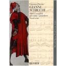 Puccini, Giacomo - Gianni Schicchi - Vocal Score