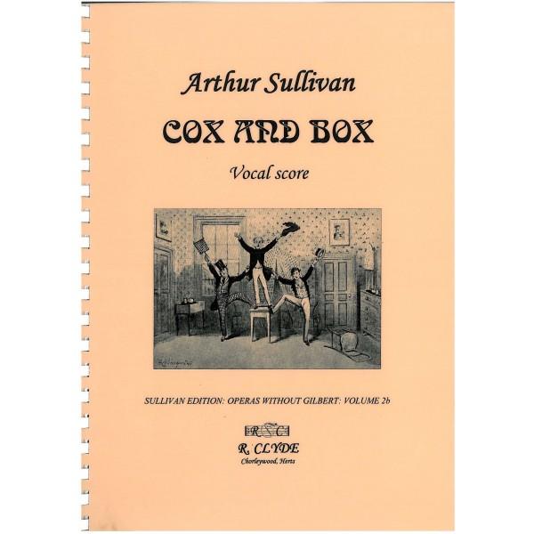 Sullivan, Arthur - Cox & Box - Vocal Score