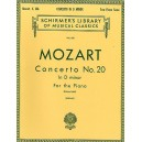 W.A. Mozart: Piano Concerto No. 20 In D Minor K.466 (2 Piano Score) - Mozart, Wolfgang Amadeus (Composer)