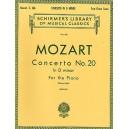 W.A. Mozart: Piano Concerto No. 20 In D Minor K.466 (2 Piano Score) - Mozart, Wolfgang Amadeus (Composer)