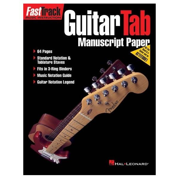 FastTrack Guitar Tab Manuscript Paper