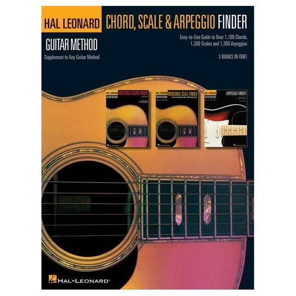 Hal Leonard Guitar Method: Guitar Chord, Scale & Arpeggio Finder
