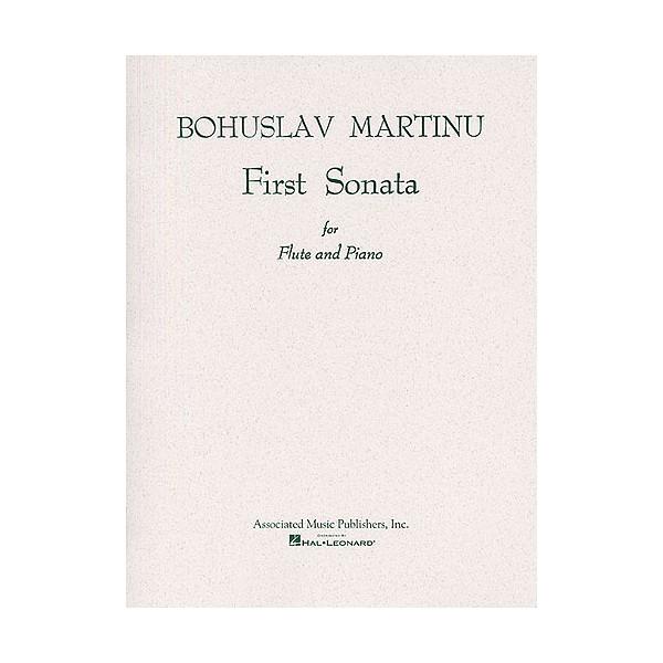 Bohuslav Martinu: First Sonata For Flute And Piano - Martinu, Bohuslav (Composer)
