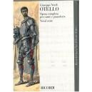 Verdi, Giuseppe - Otello (Vocal Score)