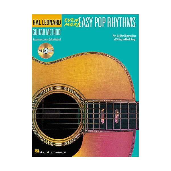 Hal Leonard Guitar Method: Even More Easy Pop Rhythms - 2nd Edition